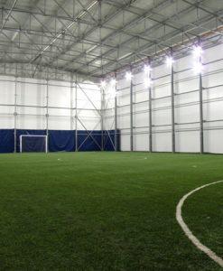 Спортна зала с метална конструкция