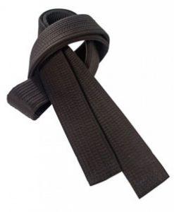 Черен колан Ramos 5 cm