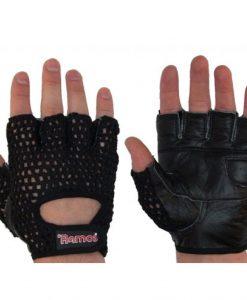 Плетени ръкавици за вдигане на тежести.Ramos