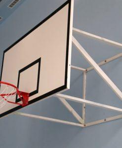 Система за монтиране на баскетболно табло