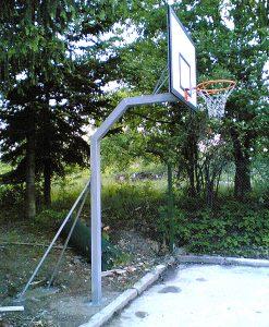 Vertical Basketball Post