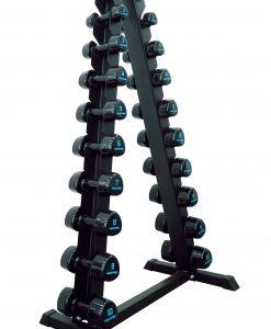 Вертикална стойка за 10 чифта дъмбели