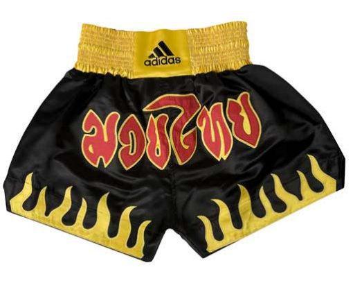 Шорти за Thai-Kick бокс ADIDAS fire design