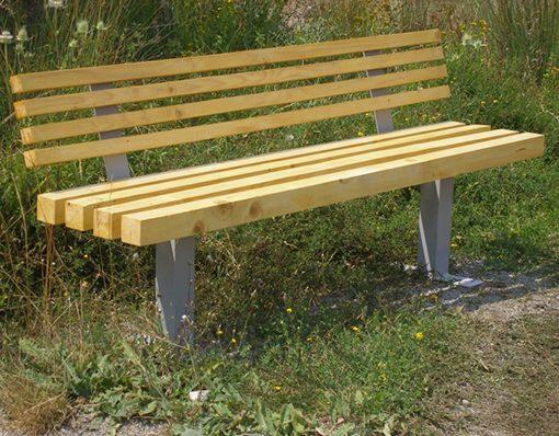 Дървена пейка