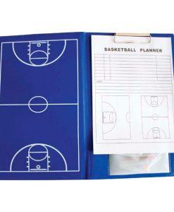 Сгъваема дъска с клипборд за баскетболни тренировки