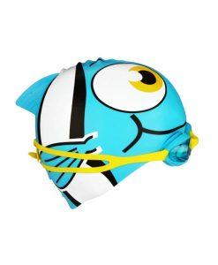 Детска плувна шапка и очила – розови/сини