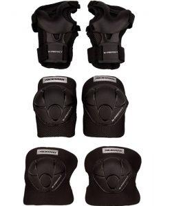 Комплект протектори за колене, лакти и китки за момче и момиче