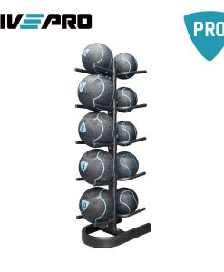 Стойка за медицински топки LivePro (за 10 бр.)