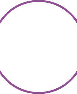 Обръч за художествена гимнастика – диаметър 70 см/280 гр