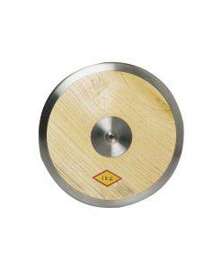 Диск, дървен с метален ръб, 1 кг