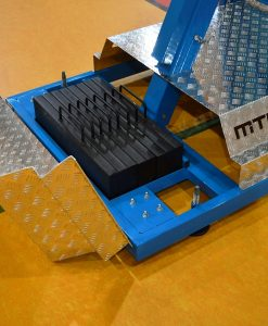 Мобилна баскетболна контрукция, изнасяне на таблото -125 см