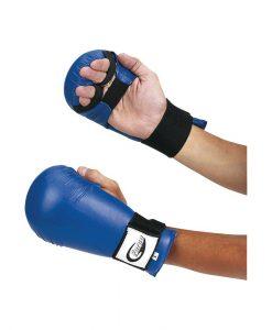 Ръкавици за карате, сини