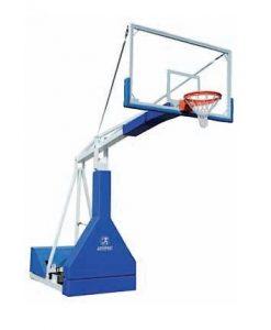Мобилна баскетболна конструкция, изнасяне на таблото 250 см