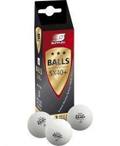 Топчета за тенис на маса SUNFLEX – 3*** за състезания