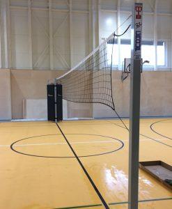 Волейболни стълбове, стоманен профил 80х80 мм