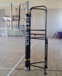 Стоманен съдийски стол за волейбол