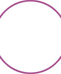 Обръч за художествена гимнастика – диаметър 60 см/230 гр.