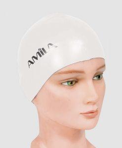 Плувна шапка за средна дължина на косата