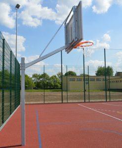 Баскетболна контрукция, изнасяне на таблото 120 см