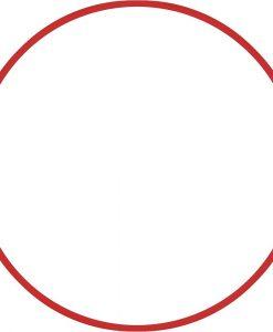 Обръч за художествена гимнастика – диаметър 60 см/120 гр