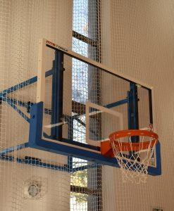 Баскетболен ринг, усилен, вандалоустойчив