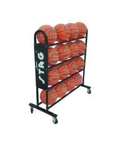 Количка за съхранение и транспортиране на топки