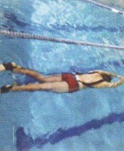 Въже за упражнения под вода
