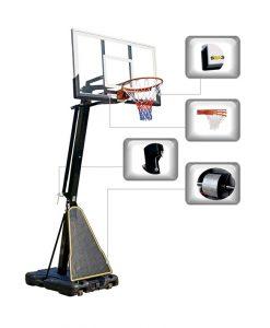 Регулируем баскетболен кош 230 – 307 см