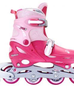 Ролери за момиче, регулируеми – Inline Quads Roller
