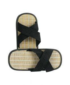 Традиционни японски сламени чехли за бойни изкуства