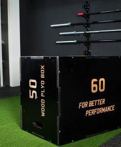 Дървена тренировъчна кутия