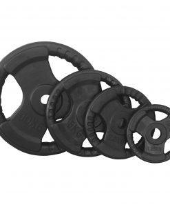 Свободни тежести с каучуково покритие