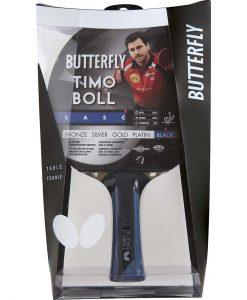Хилка за тенис на маса за състезания Timo Boll Black