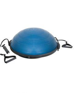 Баланс топка с гумени въжета