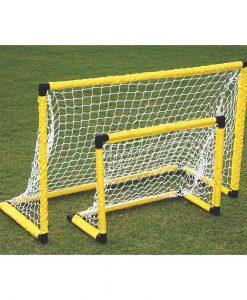 Футболна врата с мрежа – променлив размер