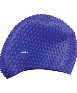 Релефна силиконова шапка за плуване