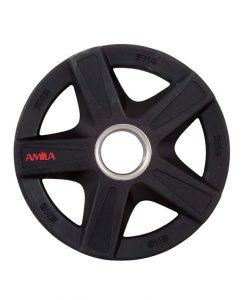 Чугунени дискове с гумено покритие, олимпийски размери