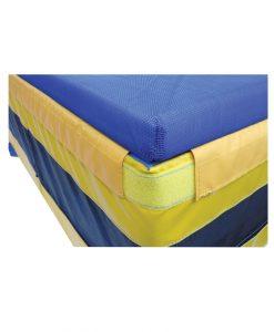 Топ за скочище за висок скок със защитна мрежа 240-300х400 см