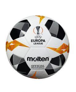 Футболна топка Molten F5U5000, официалната топка на Лига Европа, размер 5