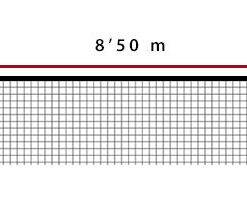 Мрежа за плажен волейбол 3 мм PP