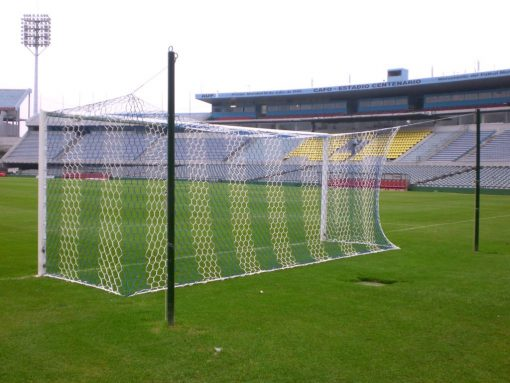 Мрежа за футболна врата A7 4 мм РР хексагонални отвори