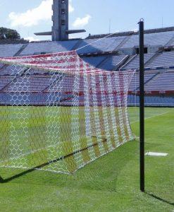 Мрежа за футболна врата A7 4 мм РР дълбока отвор 120 мм