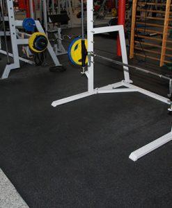 Настилка за фитнес зала с жълти пръски, 6 мм
