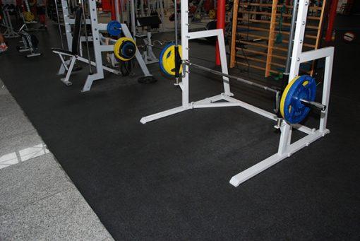 Настилка за фитнес зала със сини пръски, 4 мм