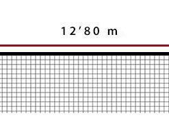 Мрежа за тенис 3,5 мм PET двойна