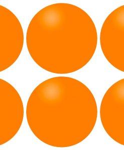 Топчета за тенис на маса 6 броя, оранжеви