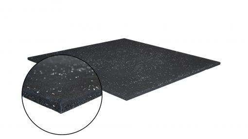 Каучукова плоча за фитнес зала 100 х 100 х 2 см