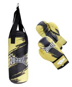 Комплект детски боксов чувал и ръкавици 8 oz