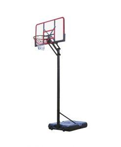 Мобилен баскетболен кош 227-305 см, поликарбонатно табло 4,5 мм