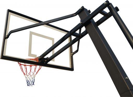 Мобилен баскетболен кош Ultra Deluxe 160-325 см, поликарбонатно табло 5 мм